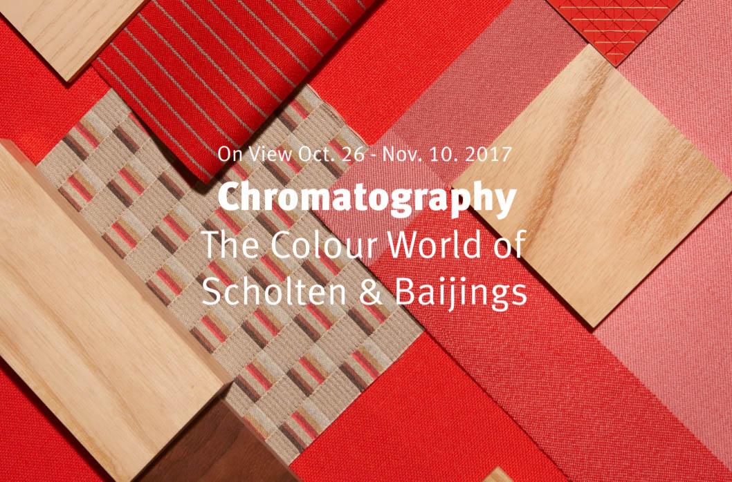 """""""クロマトグラフィー:ザ・カラー・ワールド・オブ・ショルテン&バーイングス特別展"""""""
