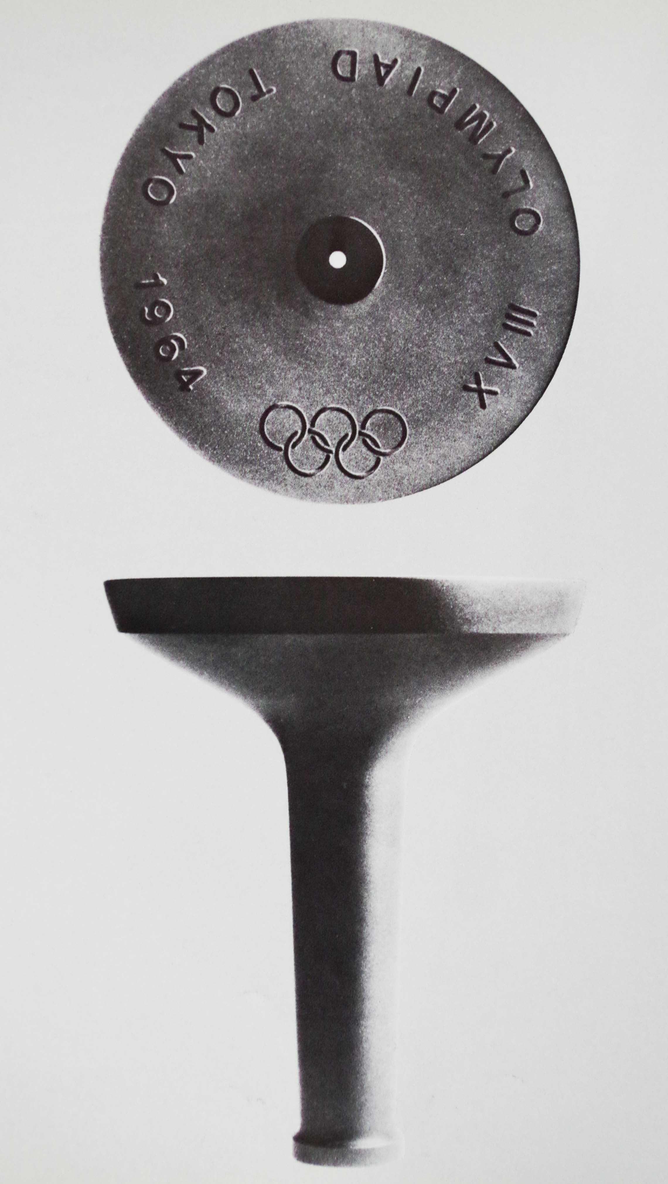 1964東京五輪聖火トーチホルダー