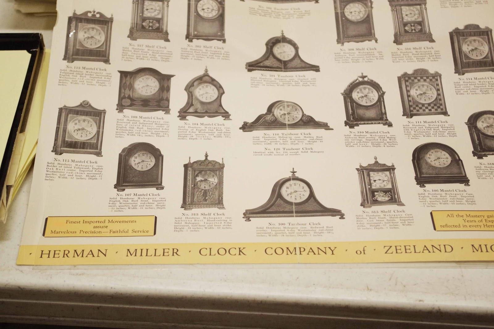 ハーマンミラー時計