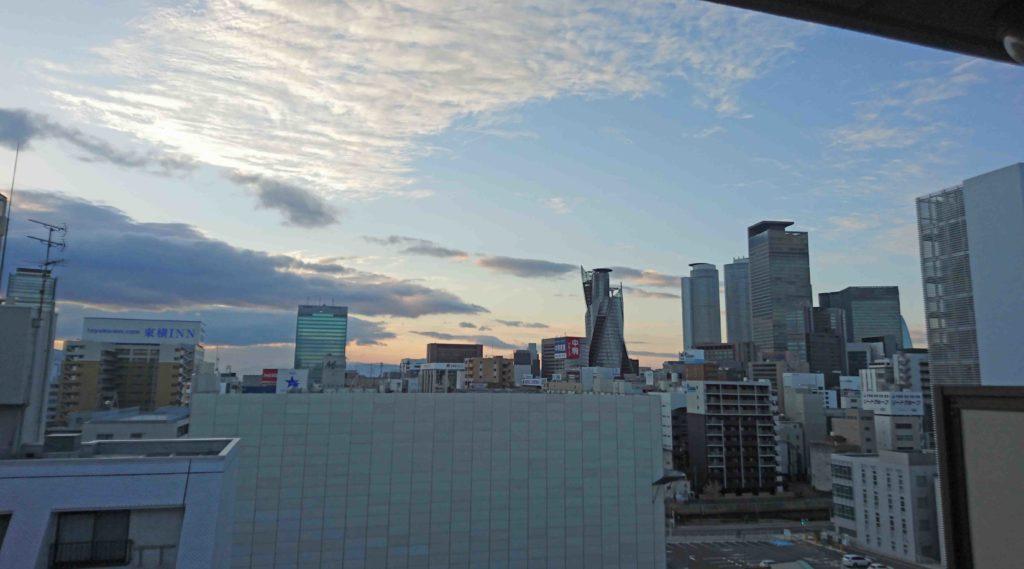 名古屋駅の方角
