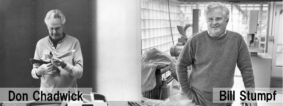ドン・チャドウィックとビル・スタンフの写真