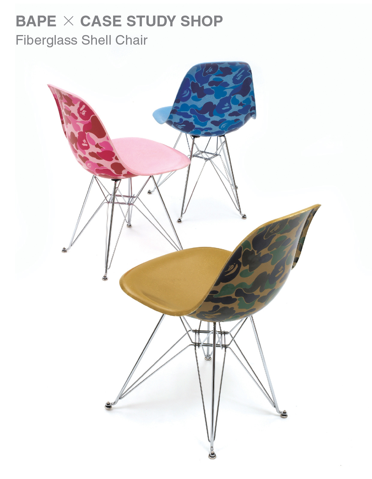 BAPE CAMO SHELL CHAIR
