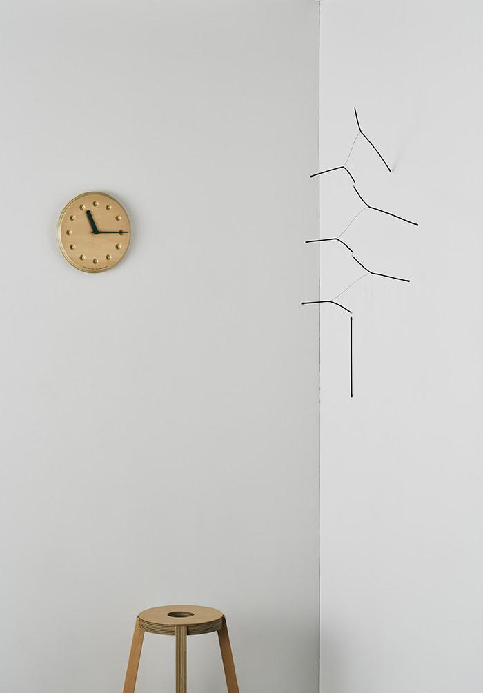 Paper-Wood CLOCK2