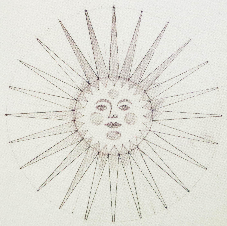 太陽のモチーフ