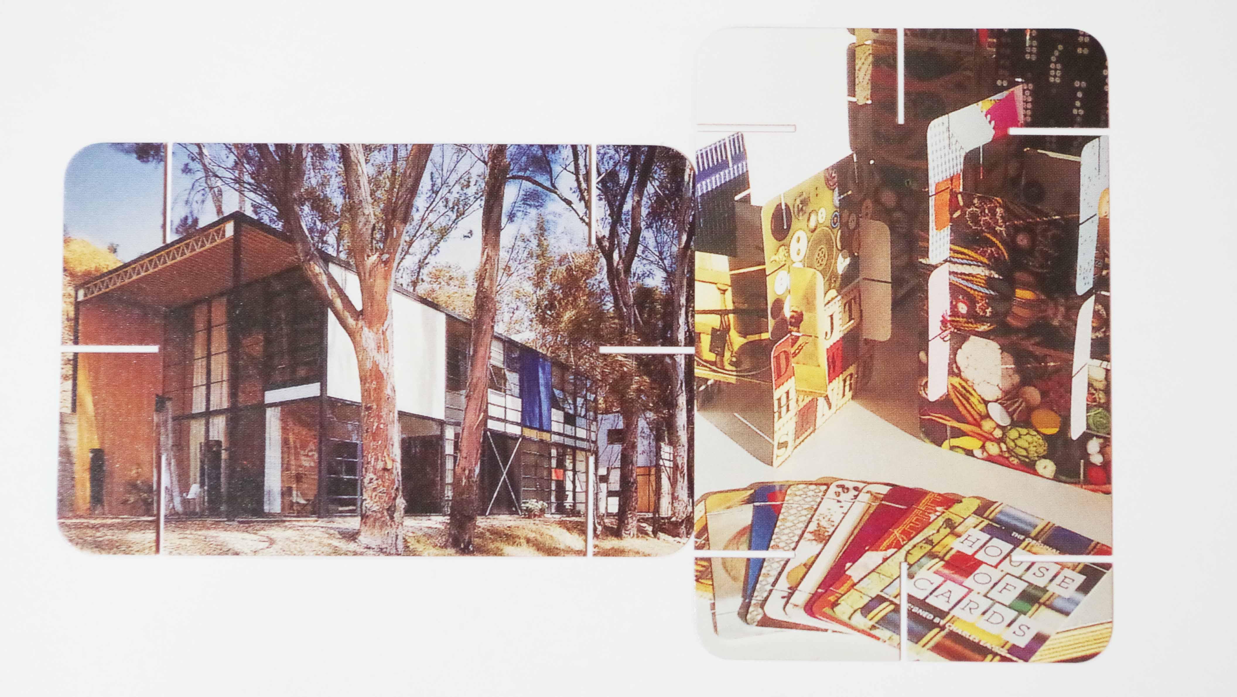 イームズハウスのカード