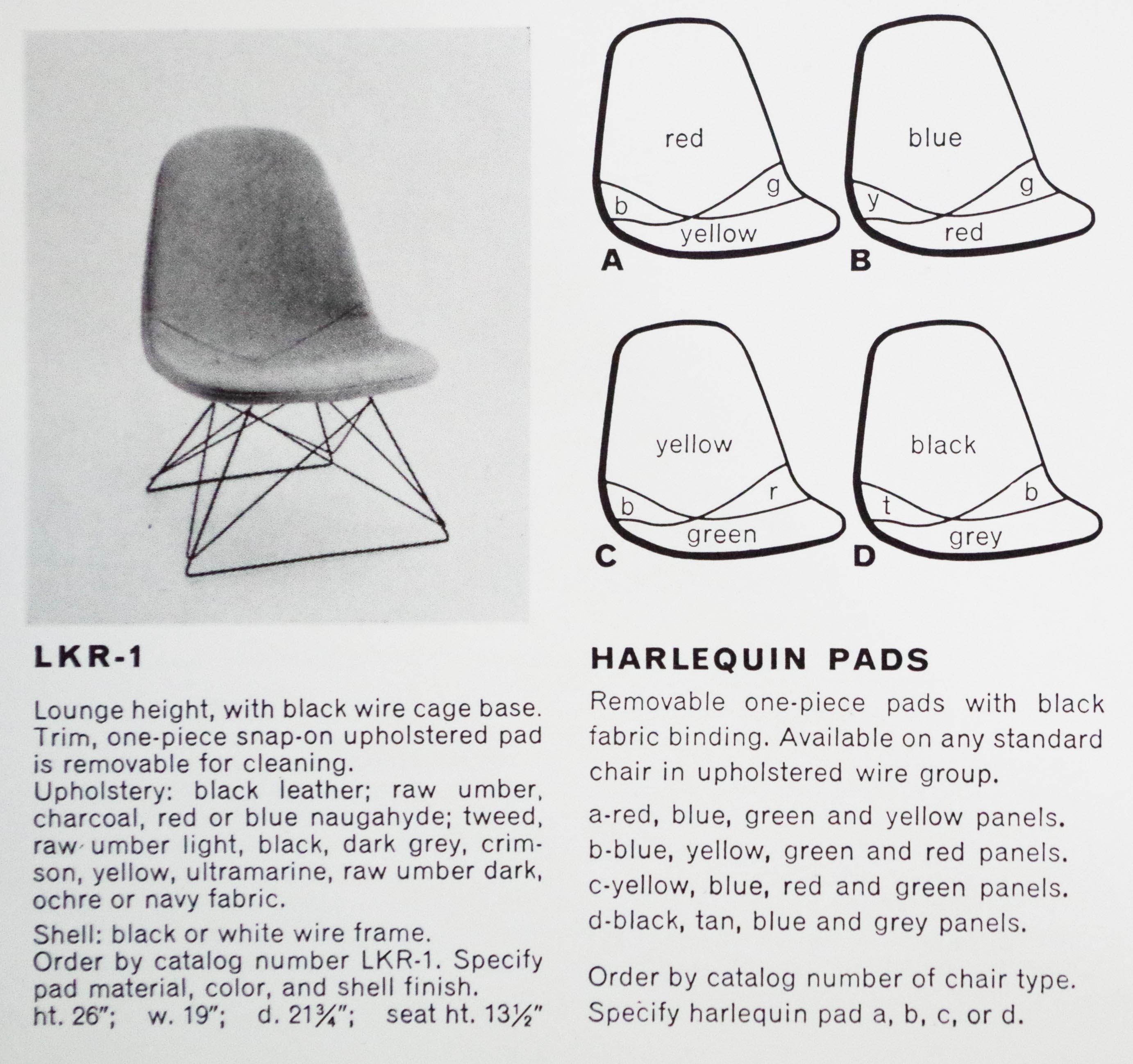 ハーレクイン当時のカタログ