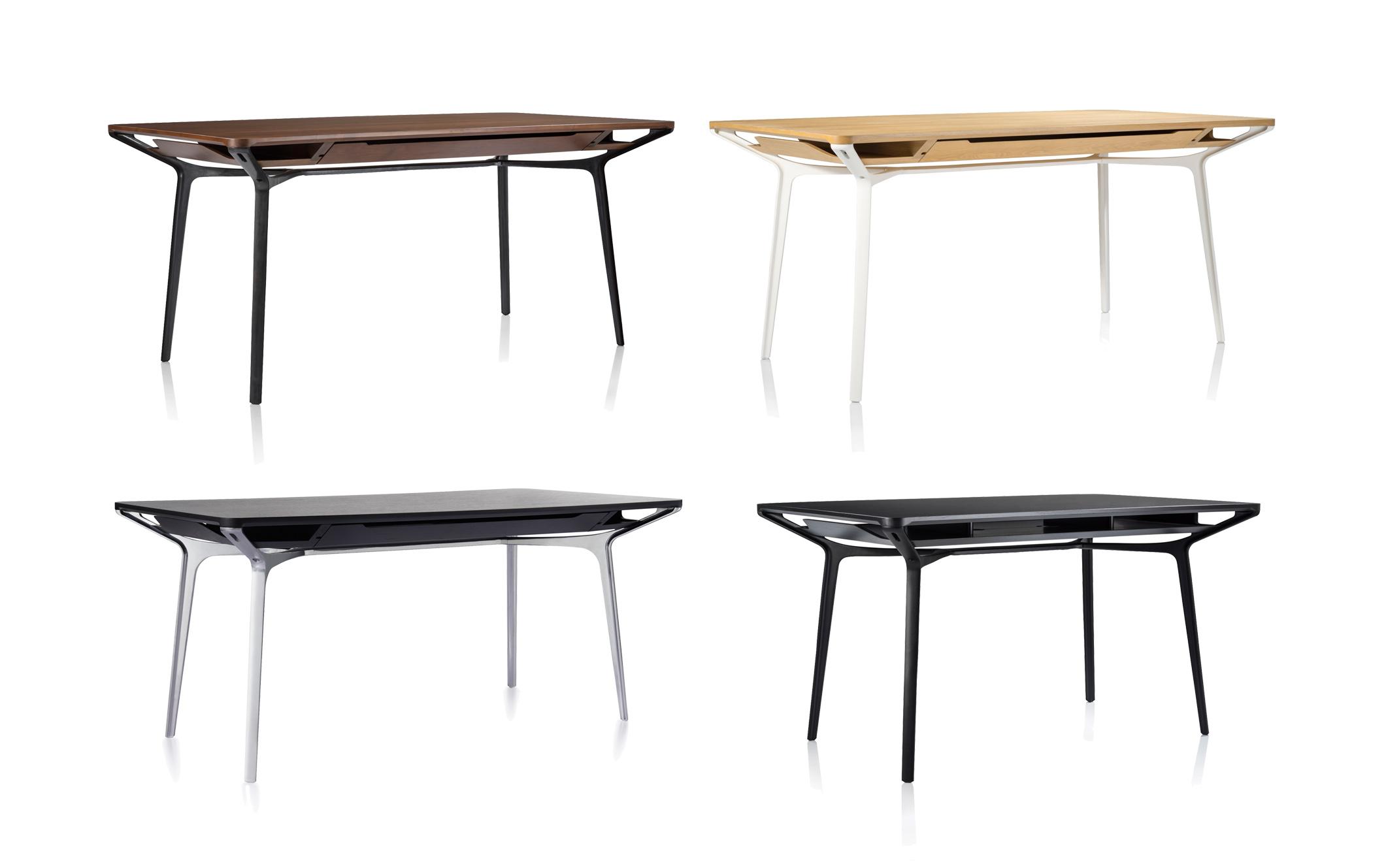 カラフテーブルのラインナップ