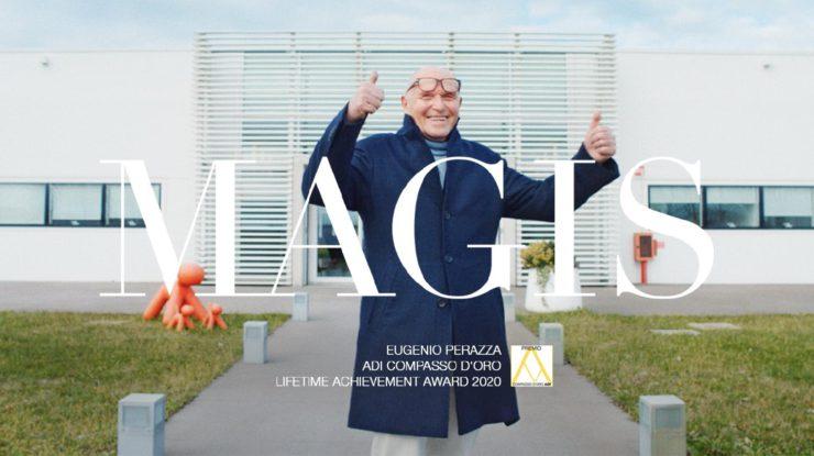 Magisの創業者ユージニオ・ペラッツァが、 2020年コンパッソ・ドーロ特別功労賞を受賞