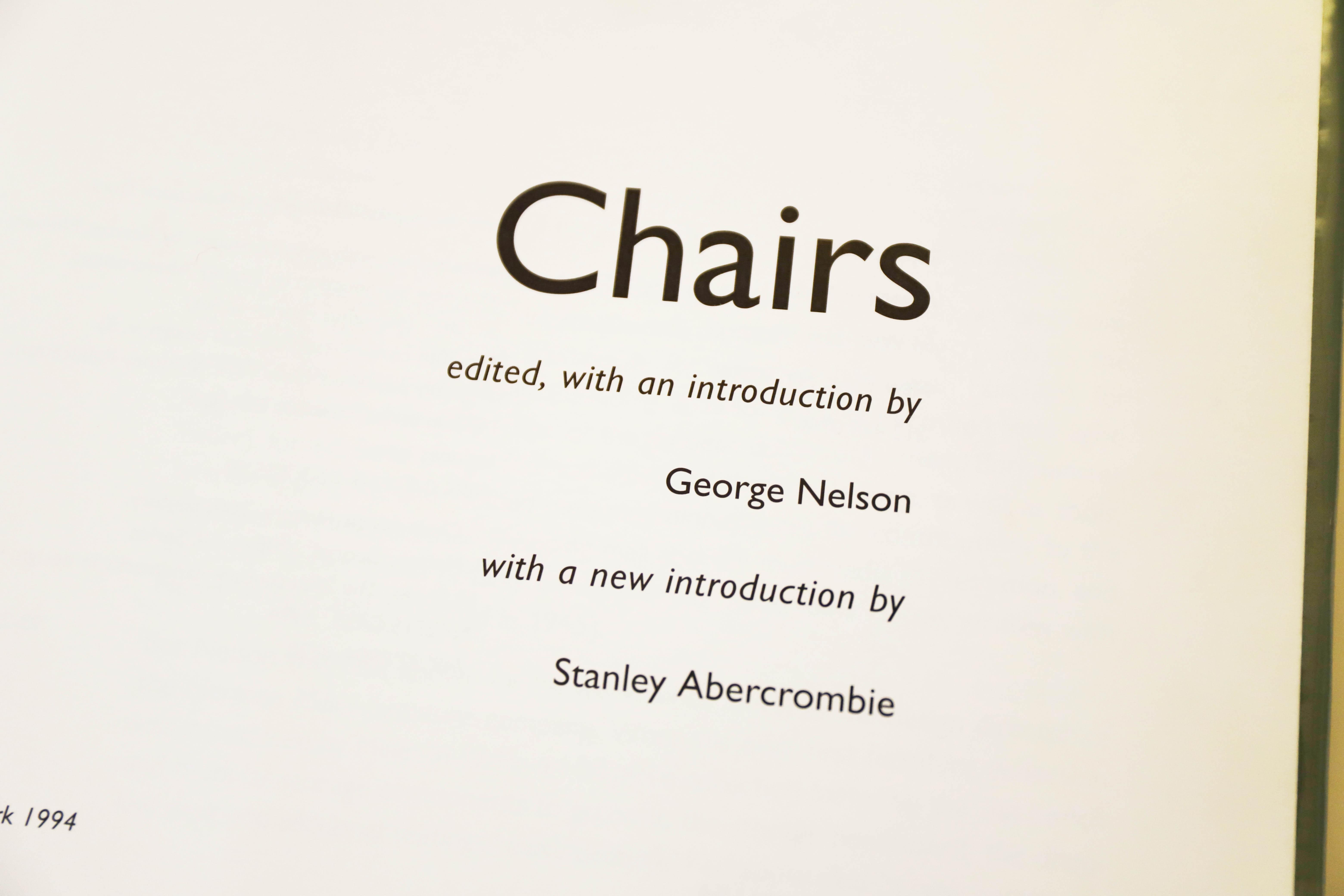 chairs表紙