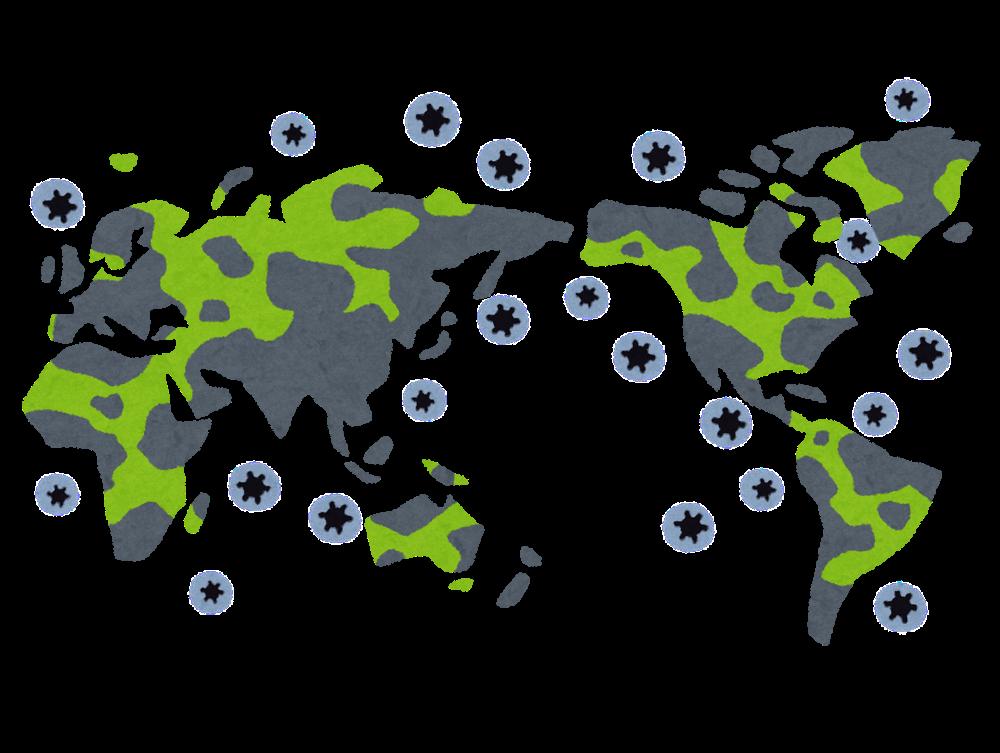感染症世界的流行