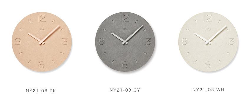 珪藻土の時計4